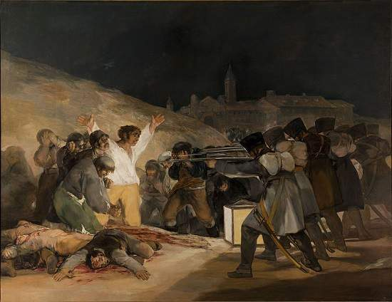 The Third of May - Francisco Goya